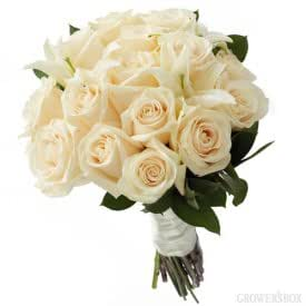 White Wedding Flowers Collection 23 Piece Combo Package