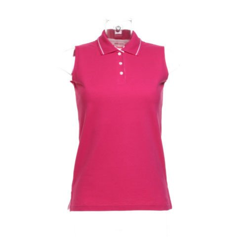 Gamegear Ladies Proactive Sleeveless Pique Polo