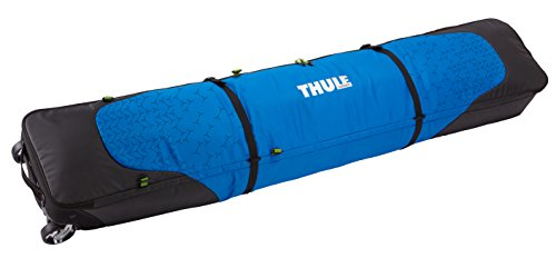Thule RoundTrip 205402 Double Ski Roller, 195cm, Black/Cobalt (Thule Roundtrip Double Ski Roller compare prices)