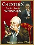 plaque m�tal 40x30 cm whisky chesters