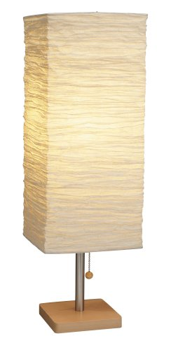 Adesso Dune Table Lamp, Natural