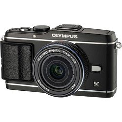 Olympus V204033BU000 12.3 MP Digital Camera with Touchscreen with 17 mm Lens (Black)