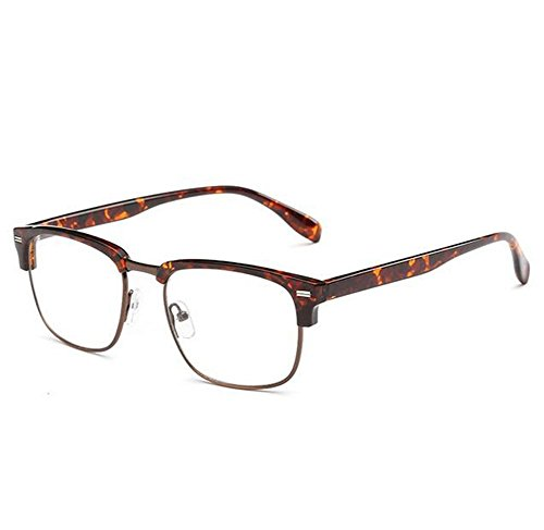 VV-K New Unisex Half Meter Box Decorative Retro Plain Glasses Fashion Eyewear£¨E3£ (Cool Safety Glasses Z87 compare prices)