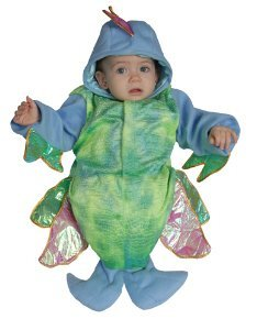 Baby Irridescent Fish Bunting Infant Halloween Costume Size 0-12m