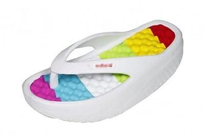 Women's Beach Wedges Platform Massage Thong Slippers Flip Flops Sandals