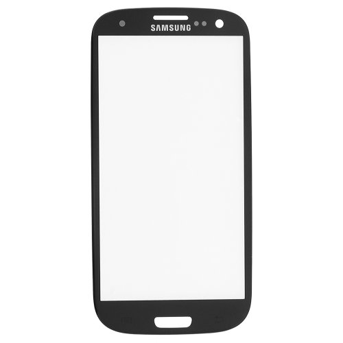 Front Outer Glass For Samsung Galaxy S Iii S3 I9300 Screen Lens Replacement + Tools - Gray
