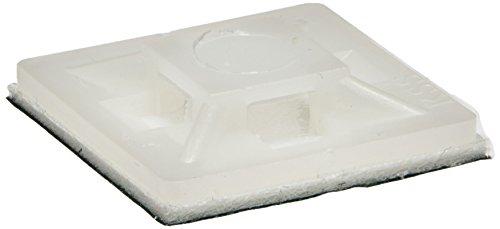 3-mm-Ancho-del-orificio-funda-auto-adhesiva-y-accesorio-para-el-Cable-soportes-verde-blanco-100-piezas