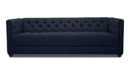 FASHION FOR HOME 3-Sitzer Sofa Grand Blau Deluxe