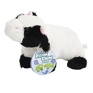 """9.5"""" Plush Cow """"Bessie"""" Pillow Chum"""