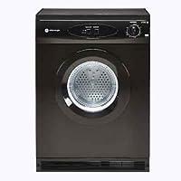 White Knight WM105VB A+ 5Kg 1000 Spin Washing Machine in Black