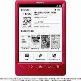 ソニー 電子書籍リーダー Reader 6型 Wi-Fiモデル レッド PRS-T3S/R