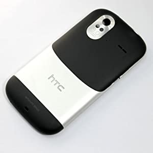 HTC Amaze Silver Black Battery Door / Cover Genuine-New