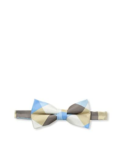 Fore Axel and Hudson Kid's Pre-Tied Check Bowtie