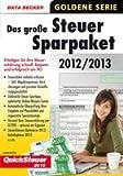 Steuersparpaket 2012/2013 (für Steuerjahr 2012)
