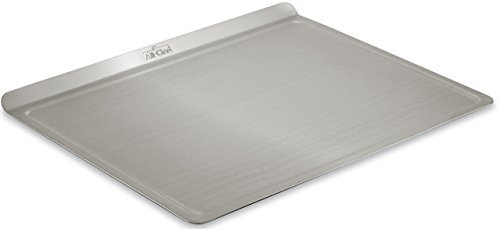 All-Clad 9003TS 18/10 Stainless Steel Baking Sheet Ovenware, 14-Inch by 17-Inch, Silver by All-Clad (All Clad Baking Sheet compare prices)