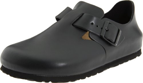 [Comfort Shoes] Birkenstock London Clog,Hunter Black,43 M EU   cheap price at amazon   31ynXcfM cL