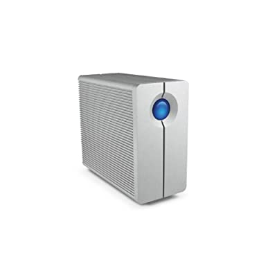 4 TB; 7200rpm; 10Gb/s; 64MB; Thunderbolt cables; Aluminum; 2x swappable hard disks; 5.95 lbs; Silver (9000191) from Lacie