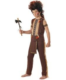 Indian Warrior Boy's Costume