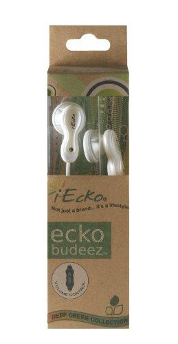 I-Ecko White Eco-Friendly Ecko Budeez W/ Volume Control