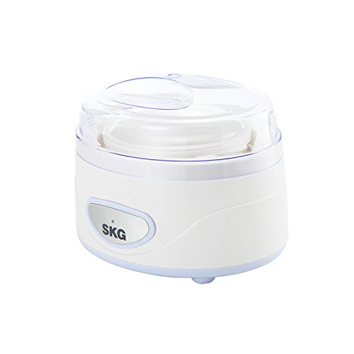 Great Value Small Kitchen Appliances SKG TNA-01A, White, 1.2L Multi-function Home Yogurt Maker