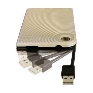 AREA USB2.0 外付HDD2.5インチケース S250 Ver.2 シャンパン 'SD-SC25U2-CH