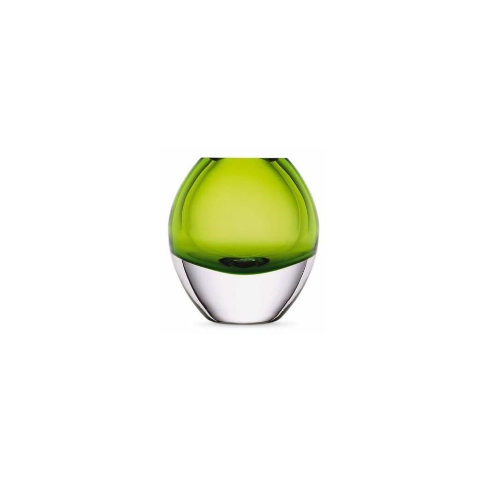 Kate Spade Lenox Garden Street Vase Heavy Green Crystal