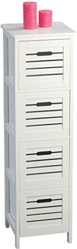 HomeTrends4You-406126-Regal-32-x-111-x-30-cm-wei-matt-lackiert