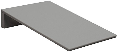 Salsbury Industries 44451Gry 1-Inch Wide Sloping Hood For Heavy Duty Plastic Locker, Gray front-11855