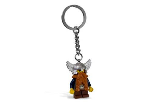 Lego Castle Dwarf Keychain