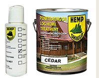 Hemp Shield Log Homes and Exterior Siding Finish Cedar- 4 pack (Hemp Shield Stain compare prices)