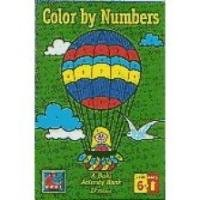 Color by Numbers - Buki Activity Book - Made in Israel, Styles May Vary