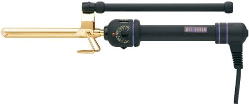 Hot Tools HT1107 Mini Professional Marcel Curling Iron with Multi Heat Control, 1/2 Inches