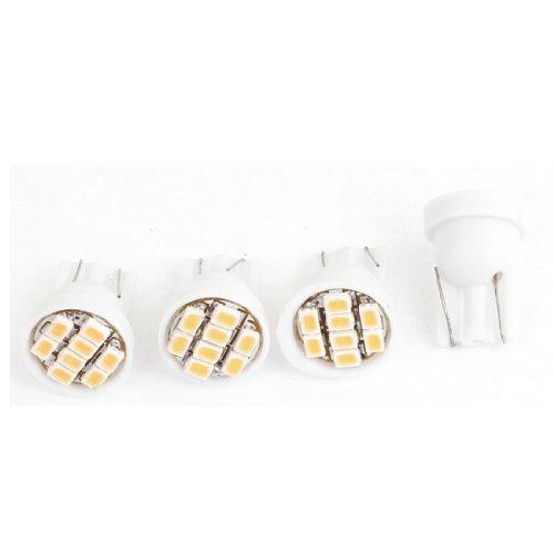Water /& Wood DC 12V 30mm 4 5050 SMD Car Interior Dome Festoon LED Light White