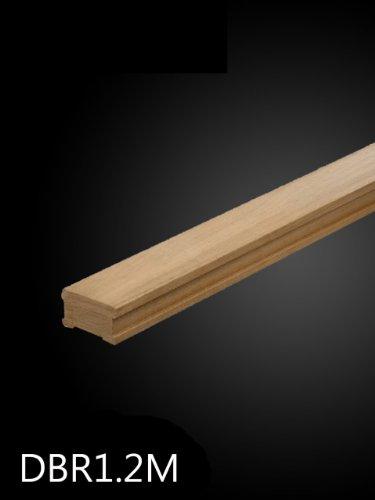 Red Hardwood Decking Baserail 1.2mtr