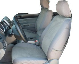 Durafit Seat Covers T925-C8 - Toyota Tacoma SR5 Front (pair) Bucket Gray Endura Waterproof Seat Covers. (Tacoma Seat Covers Trd compare prices)