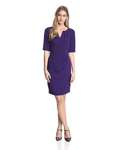 Adrianna Papell Women's V-Neck Sheath Dress