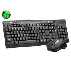 Frontech JIL-1676 Wireless Keyboard with Wireless Mouse