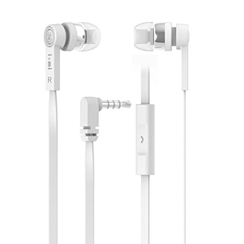Premium Sound Quality Earbud With Mic For Your Iphone / Samsung / Htc / Sony (M110(White))