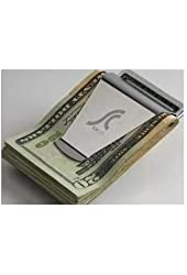 SNOW@Slim Money Clip Double Sided Credit Card Holder Wallet