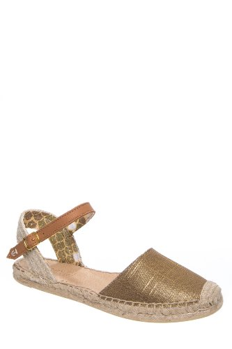 Hope Closed Toe Espadrille Flat Sandal