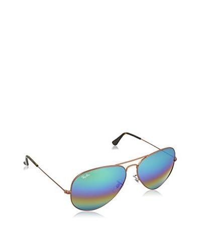 RAY BAN Gafas de Sol Aviator Large Metal 3025-18 (62 mm) METLALLIC MEDIUM BRONZE WITH LIGHTGREYMIRRO...