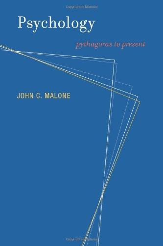 Psychology: Pythagoras to Present (Bradford Books)