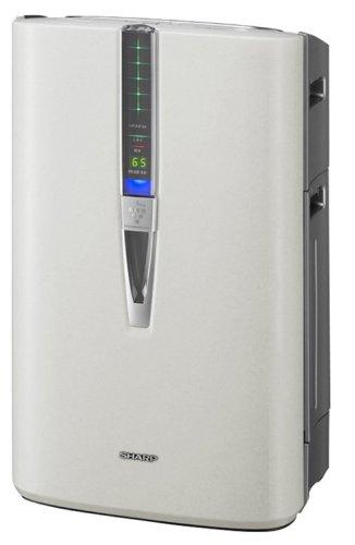 SHARP KIREION 加湿空気清浄機 高濃度7000プラズマクラスター技術 加湿21畳/空清36畳 ホワイト系 KC-W80-W