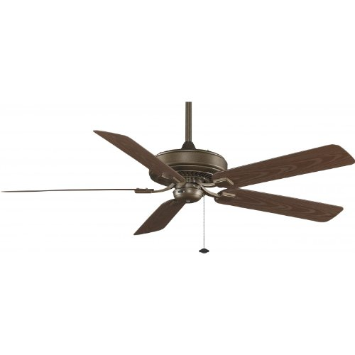 Fanimation Edgewood Deluxe 60 Inch Outdoor Ceiling Fan - Aged Bronze