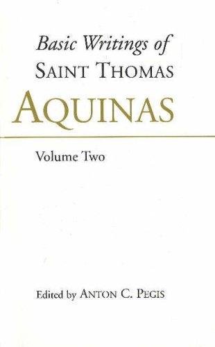 Basic Writings of St. Thomas Aquinas: (Volume 1), Aquinas, Thomas