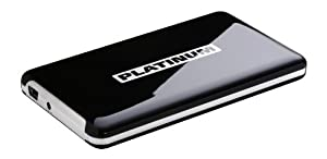 Platinum MyDrive 500GB HDD USB 2.0 schwarz