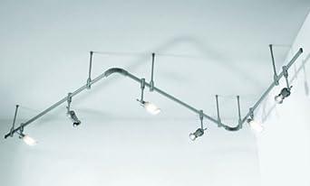 Sistema Binario 230V Senza Faretti Con Alimentatore - Misure L.300Xh.20 Cm Di...