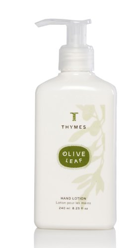 Thymes Hand Lotion, Olive Leaf, 8.25-Ounce Pump Bottle
