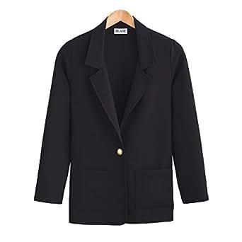 Blair Women's Plus Size Gabardine Blazer at Amazon Women's