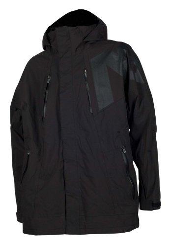 ANALOG Herren Outerwear Jacke AG ACETATE, true black, M, 252838